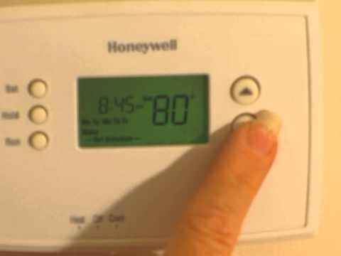 Honeywell RTH2300B setback thermostat
