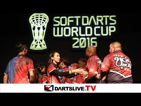【Hong Kong VS USA】 SOFT DARTS WORLD CUP 2016 -FINAL MATCH-