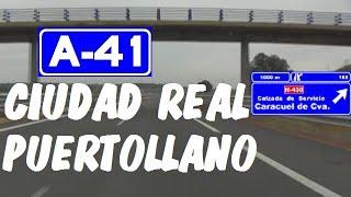 Puertollano Spain  city photos gallery : A-41 Autovía Ciudad Real - Puertollano , Tramo Completo , Ciudad Real / Highways in Spain