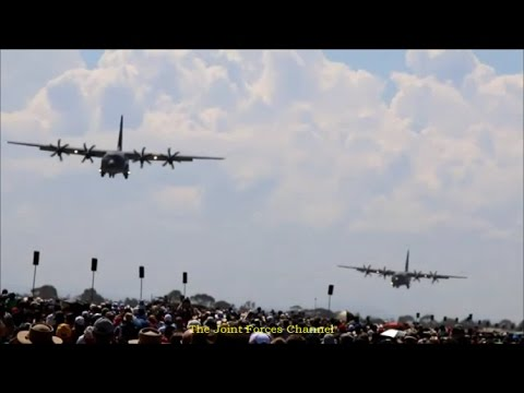 C 130 Vs C 17 Short Landings And Takeoffs