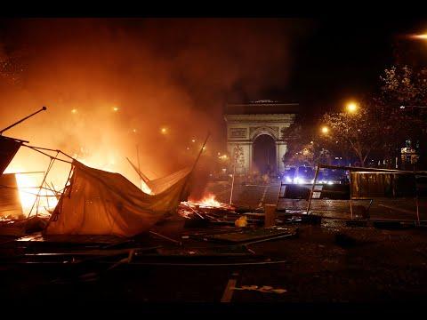 Σοβαρά επεισόδια στο Παρίσι