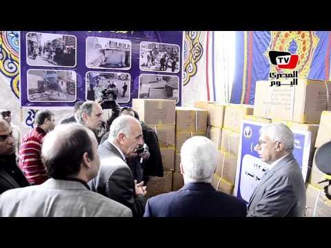 مساعد وزير الداخلية لمدن القناة يتفقد معرض مضبوطات مديرية أمن بورسعيد