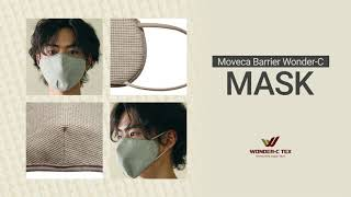 video thumbnail Wonder-C Reusable Mask - Antimicrobial effects youtube