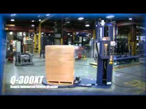 Semi Automatic Stretch Machine - Lantech Q300XT