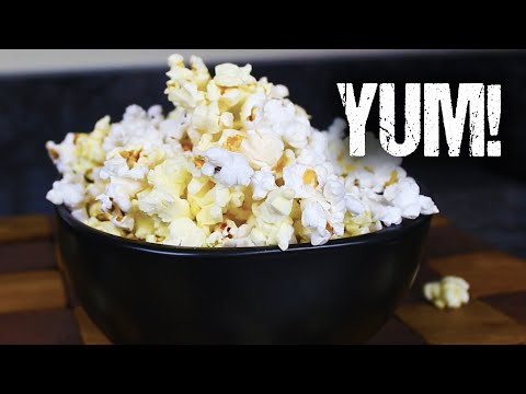 Homemade Microwave Popcorn – From Scratch