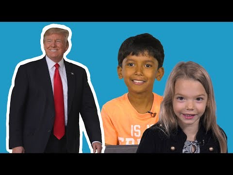 Kids tell us what they really think of Trump