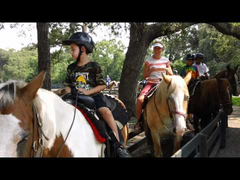Horseback Riding in Hilton Head 2011 - Part 1 of 3