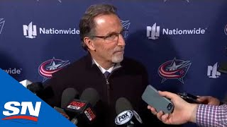"""John Tortorella Says Panarin Is Out Because """"He S*** His Pants,"""" Not For A Trade by Sportsnet Canada"""