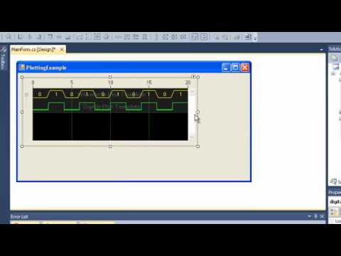 Digital Waveform Graph for Measurement Studio