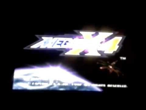 megaman x4 psx