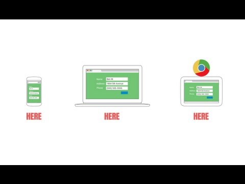 Now - One browser for your laptop, phone and tablet. When you use Chrome across all of your devices, your web gets better, everywhere. Find out more at http://goog...