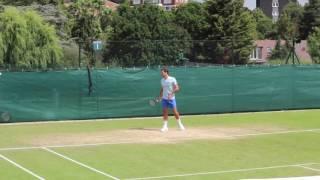 TENNIS - Roger Federer Practice Wimbledon 2017 HD