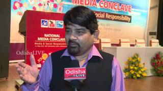 Santosh Bhartiya, Eminent Journalist - National Media Conclave 2017- Interview