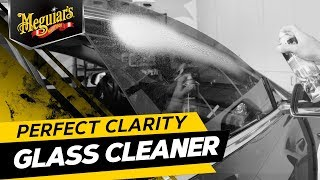 Meguiar's Perfect Clarity Glass Cleaner – Streak-Free Auto Window Cleaner