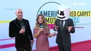 Video Marshmello Interview - AMAs Red Carpet 2017 MP3, 3GP, MP4, WEBM, AVI, FLV April 2018
