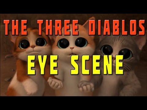 Puss in Boots - The Three Diablos Eye scene