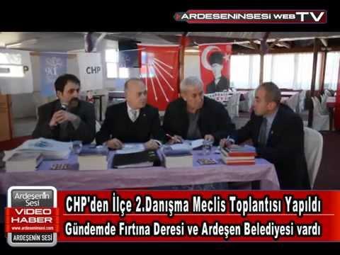 CHP'den İlçe Danışma Meclis Toplantısı