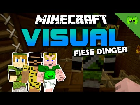 MINECRAFT Adventure Map # 25 - Visual Project 2 «» Let's Play Minecraft Together | HD