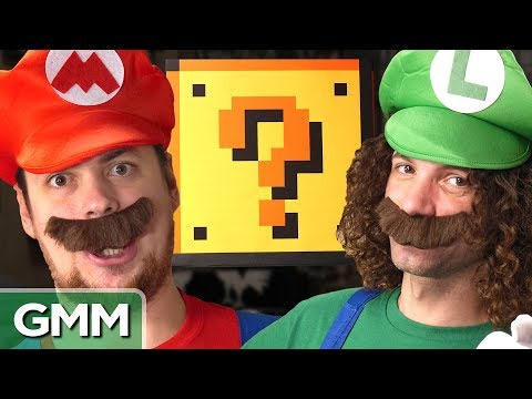 11 • E99___  _    Super Mario Smash Block Challenge ft. Game Grumps