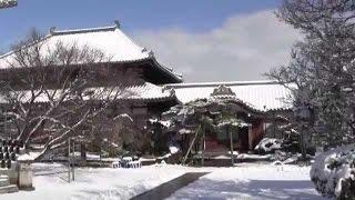 興禅寺・初雪初冠雪