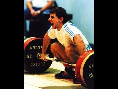 Yoto Yotov of Bulgaria multiple World and European Weightlifting Champion