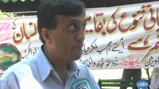 Mansehra- Report International Day for Biological Diversity 2012 , Report Nisar Ahmad Khan , Cameraman Adnan ALi - DAWN TV.