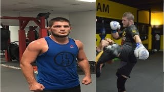 Video Khabib Nurmagomedov training 2017 for Tony Ferguson UFC 209 MP3, 3GP, MP4, WEBM, AVI, FLV Desember 2018