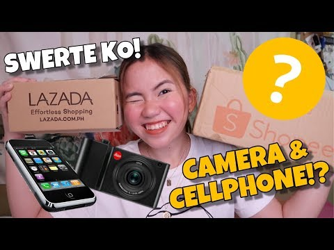 3,000 & 5,000 MYSTERY BOX UNBOXING FROM LAZADA & SHOPPEE | BONGGA KAYA!?