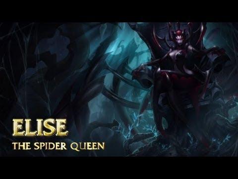[LoL] Обзор чемпиона - Элис, королева пауков