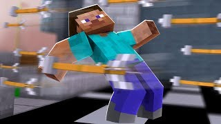 Minecraft But Everything Is 1/10th Speed *SUPER Slow Motion*