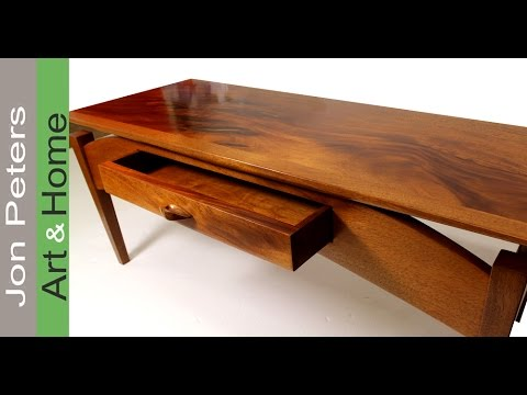 A simple way to refinish wood furniture using a wiping varnish by Jon Peters