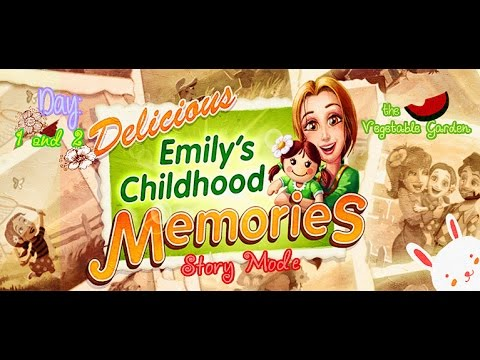 Delicious: Emily's Childhood Memories [Gameplay] (Days 1 And 2) - The Vegetable Garden