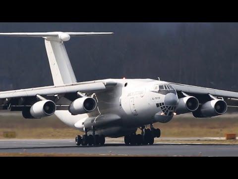 Необычная посадка Илюшина ИЛ-76