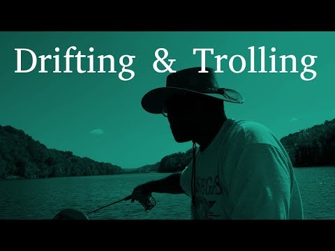 Drifting for Bluegill | Trolling for Bluegill