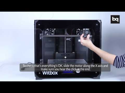 Witbox: Changing the Hot End