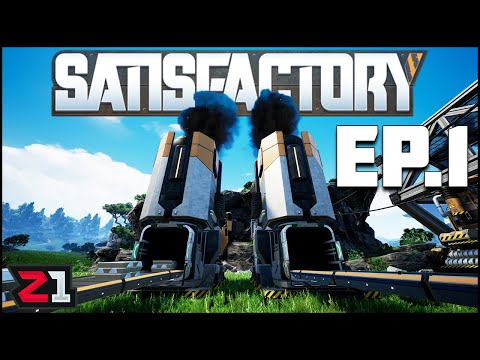 Step 1: Find Clean Planet, Step 2: INDUSTRIALIZE IT ! ! Satisfactory Ep.1 | Z1 Gaming