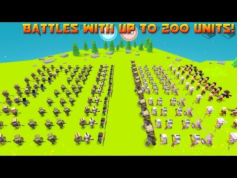 Tactical Battle Simulator (by Moustache Banana) / Android Gameplay HD
