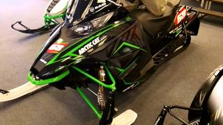7. 2015 Arctic Cat ZR 6000 Tucker Hibbert Edition