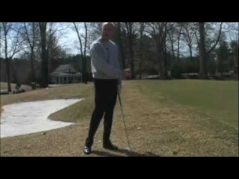Rob Labritz: PGA Professional golfer and instructor gives tips on Low Ball Sitting Pitch shot