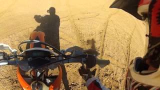 9. 125 meets the desert. 10 days desert adventure with KTM 125 EXC 2012