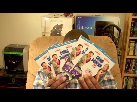 "UNBOXING ""Dumb and Dumber To"" Blu Ray GIVEAWAY [HD]"