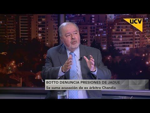 video Ángel Botto denuncia presiones por parte de Sergio Jadue