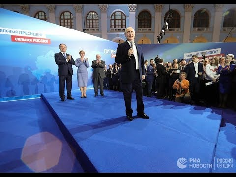 Встреча Путина с экс-кандидатами в президенты России - DomaVideo.Ru