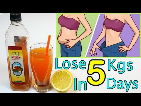 Fat Cutter Drink / Lose 5 Kgs in 5 Days / Weight Loss Drink Remedy - Morning Routine