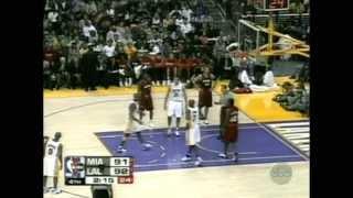 Kobe Bryant 42 pts vs Shaquille O'Neal 24 pts Full Highlights Heat vs Lakers (2004.12.25)