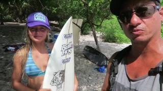 Little Girl Surf Contest - With Surfer Ki'ili