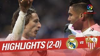 Video Highlights Real Madrid vs Sevilla FC (2-0) MP3, 3GP, MP4, WEBM, AVI, FLV Januari 2019
