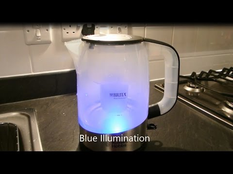 Russell Hobbs 18554 Brita Filter Purity Kettle Review & Demo