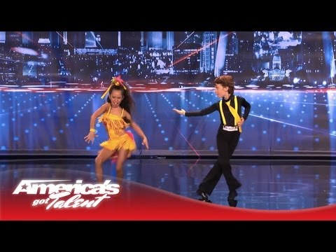Yasha & Daniela – Amazing Kid Dancers Dance to Pitbull and Tina Turner – America's Got Talent 2013