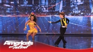 Video Yasha & Daniela - Amazing Kid Dancers Dance to Pitbull and Tina Turner - America's Got Talent 2013 MP3, 3GP, MP4, WEBM, AVI, FLV Juli 2018